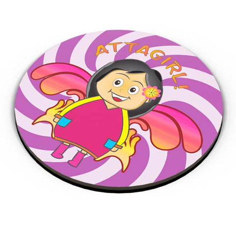PosterGuy | Attagirl! Fridge Magnet Online India by Design Dazzlers