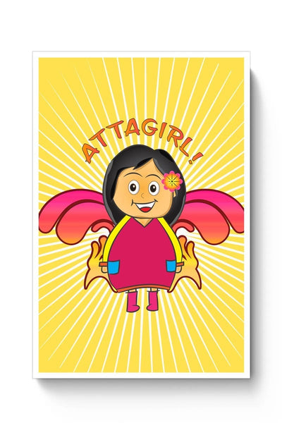 Posters Online | Attagirl!! Poster Online India | Designed by: Design Dazzlers