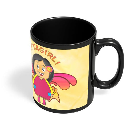 Coffee Mugs Online | Attagirl!! Black Coffee Mug Online India