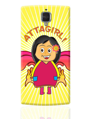 Attagirl!! OnePlus 3 Cover Online India