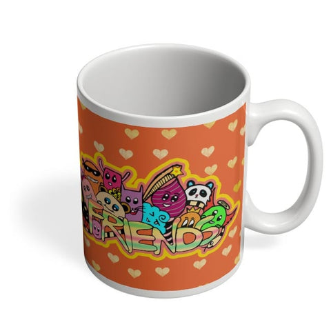 Coffee Mugs Online | Friends Doodle!! Coffee Mug Online India