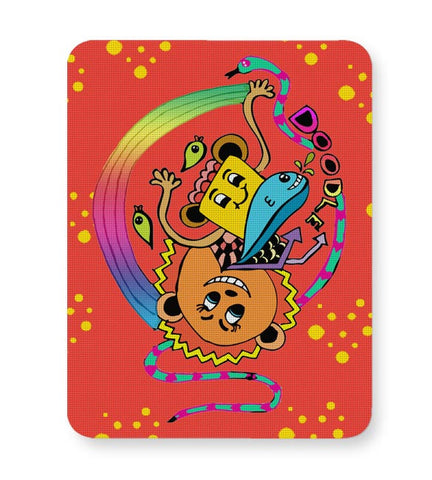 Doodle Luv!! Mousepad Online India