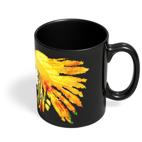 Coffee Mugs Online | Pretty Girl Black Coffee Mug Online India
