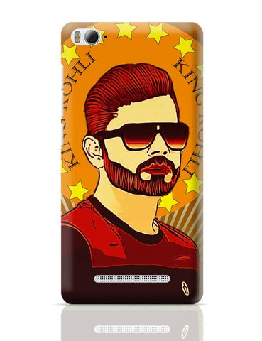King Virat Kohli Xiaomi Mi 4i Covers Cases Online India