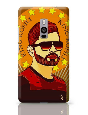King Virat Kohli OnePlus Two Covers Cases Online India