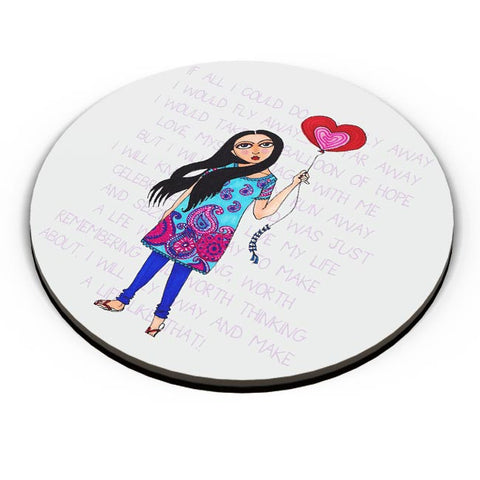 PosterGuy | Fly with Your Heart Fridge Magnet Online India by NoodleDoodlebyRB