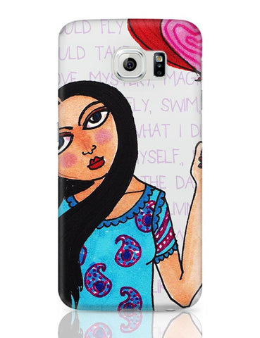 Samsung Galaxy S6 Covers | Fly with Your Heart Samsung Galaxy S6 Case Covers Online India