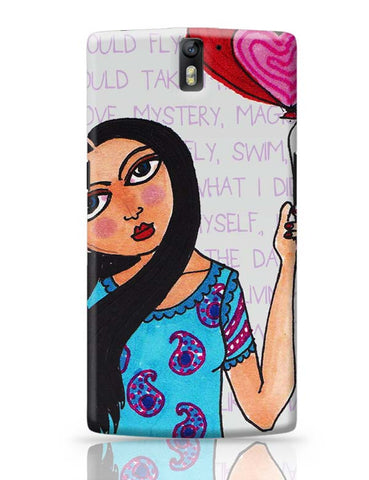 OnePlus One Covers | Fly with Your Heart OnePlus One Case Cover Online India