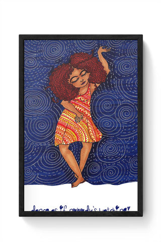 Framed Posters Online India | Dance Away Framed Poster Online India