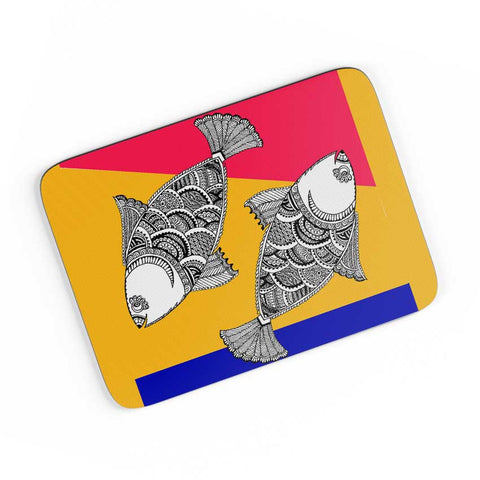 Happy Fish A4 Mousepad Online India