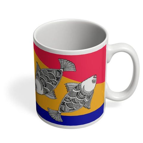 Happy Fish Coffee Mug Online India