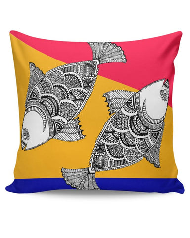 Happy Fish Cushion Cover Online India