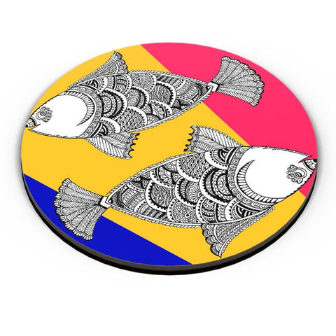 Happy Fish Fridge Magnet Online India