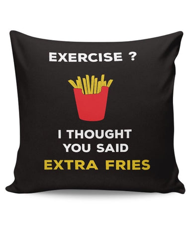 Extra Fries Cushion Cover Online India