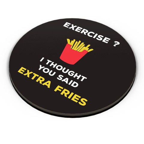 Extra Fries Fridge Magnet Online India