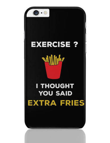 Extra Fries iPhone 6 Plus / 6S Plus Covers Cases Online India