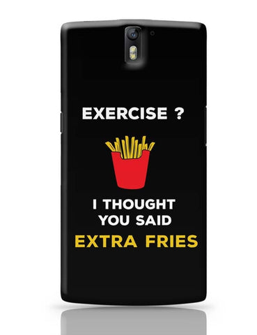 Extra Fries OnePlus One Covers Cases Online India