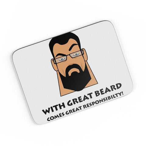 Beard A4 Mousepad Online India