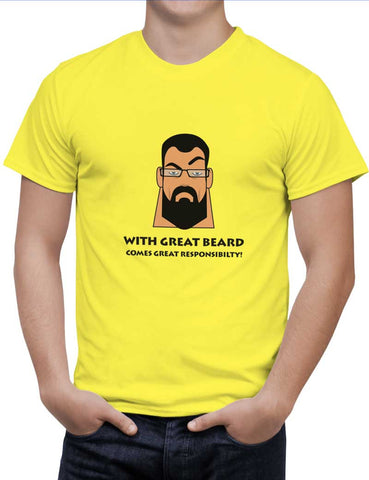 Buy Beard Woman T-Shirts Online India | Beard T-Shirt | PosterGuy.in