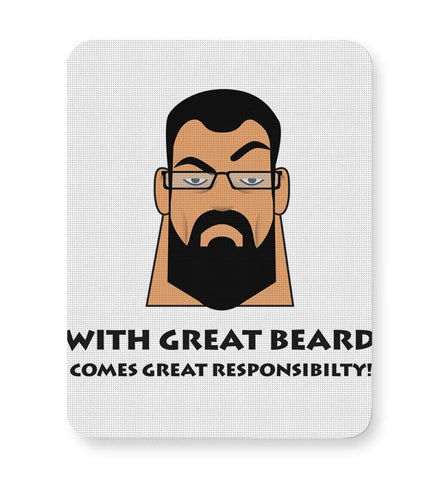 Beard Mousepad Online India