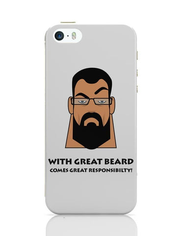 iPhone 5 / 5S Cases & Covers | Beard iPhone 5 / 5S Case Cover Online India