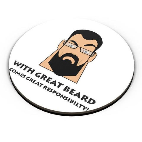 PosterGuy | Beard Fridge Magnet Online India by DexonD