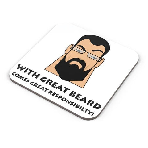 Buy Coasters Online | Beard Coasters Online India | PosterGuy.in