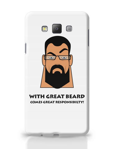 Beard Samsung Galaxy A7 Covers Cases Online India