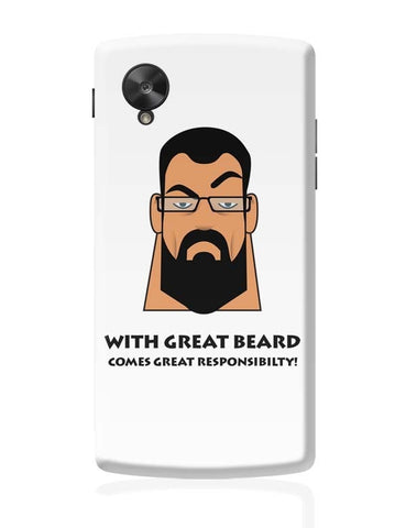Google Nexus 5 Covers | Beard Google Nexus 5 Case Cover Online India