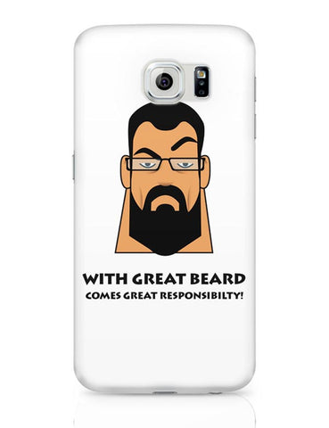 Beard Samsung Galaxy S6 Covers Cases Online India