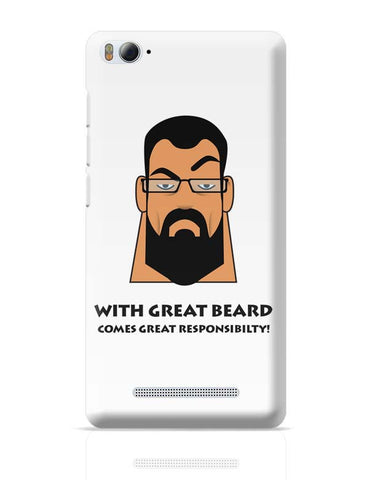 Beard Xiaomi Mi 4i Covers Cases Online India