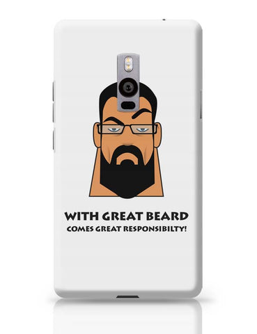 Beard OnePlus Two Covers Cases Online India