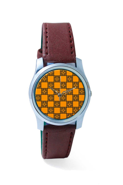 Women Wrist Watch India | Rangoli Design Wrist Watch Online India