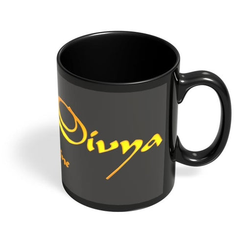 Coffee Mugs Online | Divya The Divine Black Coffee Mug Online India