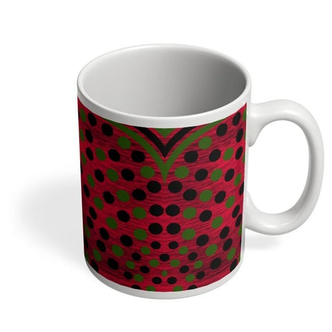Coffee Mugs Online | Black Green Art Coffee Mug Online India
