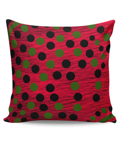 Black Green Art Cushion Cover Online India