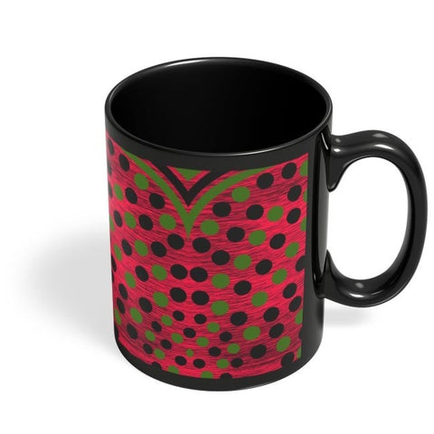 Coffee Mugs Online | Black Green Art Black Coffee Mug Online India