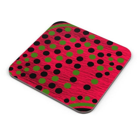 Buy Coasters Online | Black Green Art Coasters Online India | PosterGuy.in