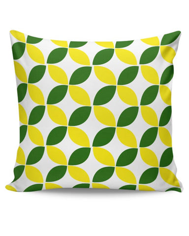 Green Leaf Pattern Cushion Cover Online India