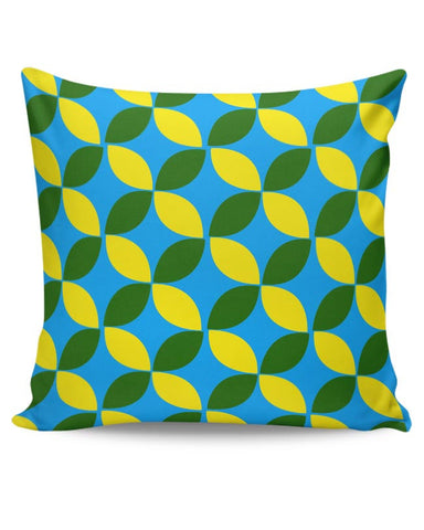 Blue Flower Cushion Cover Online India