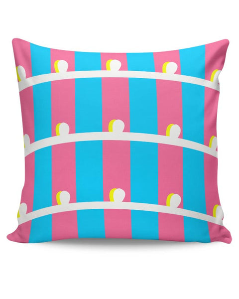 Blue Pillar Cushion Cover Online India