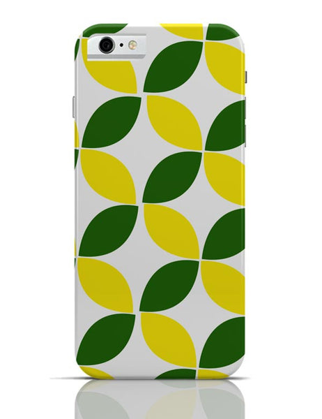 Green Leaf Pattern iPhone 6 6S Covers Cases Online India