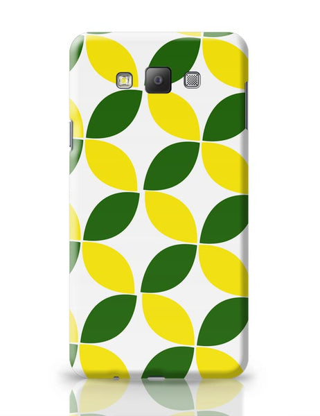 Green Leaf Pattern Samsung Galaxy A7 Covers Cases Online India