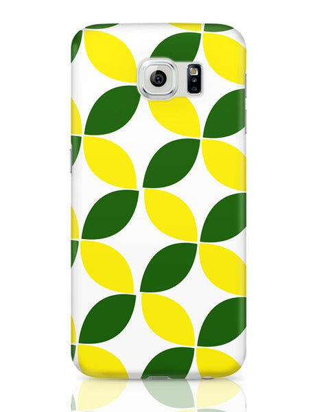 Green Leaf Pattern Samsung Galaxy S6 Covers Cases Online India