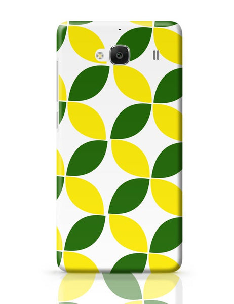 Green Leaf Pattern Redmi 2 / Redmi 2 Prime Covers Cases Online India