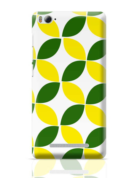 Green Leaf Pattern Xiaomi Mi 4i Covers Cases Online India