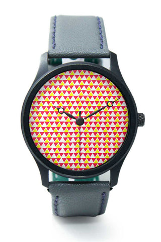 Wrist Watches India | Triangle Pattern Premium Wrist Watch  Online India.