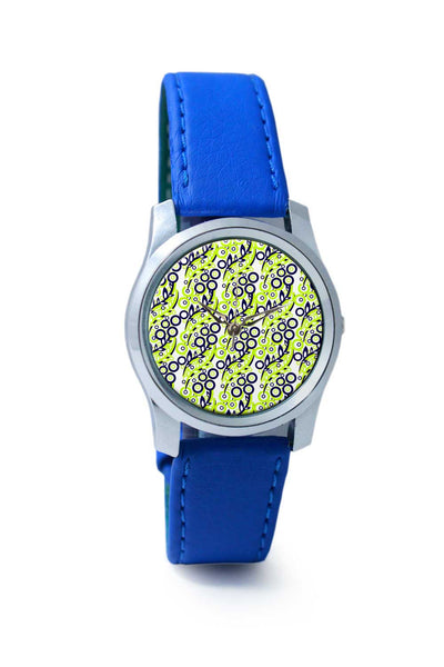 Women Wrist Watch India | White Leaf Wrist Watch Online India
