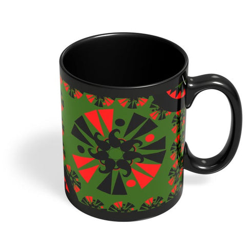 Art Design Black Coffee Mug Online India