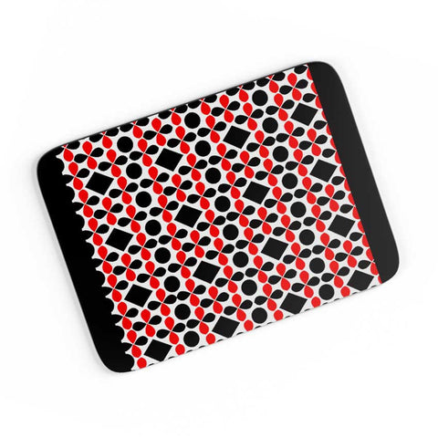 Black Floral A4 Mousepad Online India